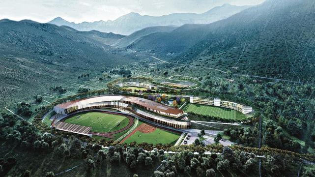 Resultado de imagen para Centro de Alto Rendimiento Deportivo en Altura en Tafí del Valle.
