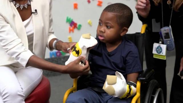 La recuperación de Zion Harvey, el niño con manos ajenas